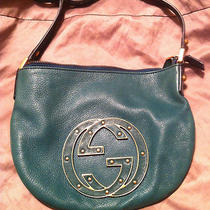 Authentic Gucci Teal Blondie Hobo Bag Photo