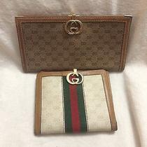Authentic Gucci Wallet/checkbook Set Photo
