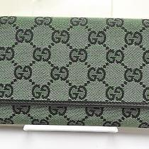 Authentic Gucci Wallet  Greens 34102 Photo
