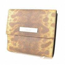 Authentic  Gucci Wallet  Made in Italy Browns Lizard 54152 Photo