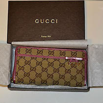 Authentic Gucci Wallet Women's Pink   Brand New in Box  Photo