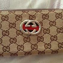 Authentic Gucci Zipper Wallet - Never Been Used Photo