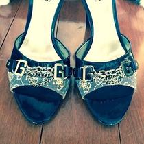 Authentic Guess by Marciano Open Toe Heels Size 7.5... Comes With Gift Photo