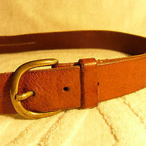 Authentic h&m Tobacco Brown Leather Belt - 36- (Mens) Sweden Photo