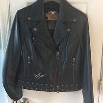 Authentic Harley-Davidson Circa 2004 Womens S Size Motorcycle Jacket-Excellent Photo