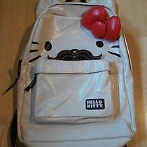 Authentic Hello Kitty Mustache Backpack Photo