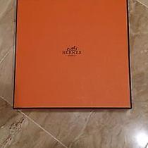 Authentic Hermes 32mm Women's Reversible Leather Strap With Gold Plated H Photo