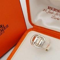 Authentic Hermes 925 Sterling Silver Ladies Ring (1433) Photo