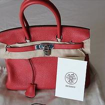 Authentic Hermes Birkin Handbag  Photo