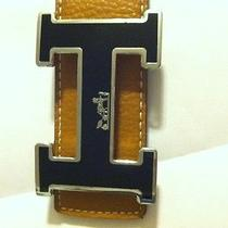 Authentic Hermes Designer Belt Photo