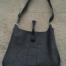 Authentic Hermes Evelyn Ii Shoulder Bag J Stamp Photo