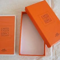 Authentic Hermes Knotting Cards How to Tie a Scarf Sealed Rare With Box Photo