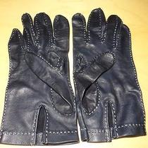 Authentic Hermes Lambskin Gloves 7.5 Photo