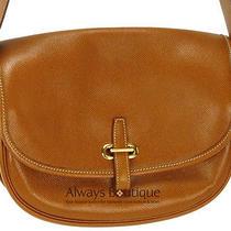 Authentic Hermes Leather Balle De Golfe Shoulder Bag Photo