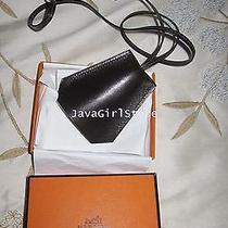 Authentic Hermes Necklace Tour De Cou Clochette Leather W/its Box Photo