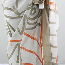 Authentic Hermes Oversized Cotton Wrap/sarong Photo