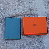 Authentic  Hermes Paris Address Book  With Box  Photo