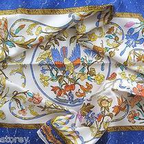 Authentic Hermes Pierres d'orient Et d'occident Scarf Zoe Pauwels 1988 Brand New Photo