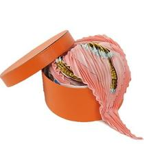 Authentic Hermes Pleated Carre