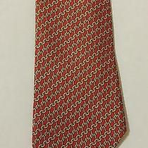 Authentic Hermes Red Tie Photo