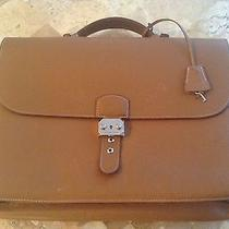 Authentic Hermes Sac a Depeche Briefcase Hand Bag Photo