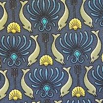 Authentic Hermes Tie Paris 7755 Fa Dolphins Photo