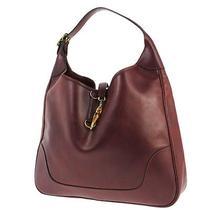 Authentic Hermes Trim 40 Shoulder Bag Box Calf Bordeaux France Vintage Lp08506 Photo