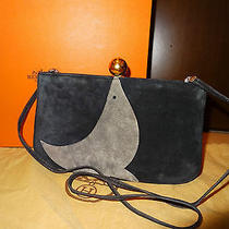 Authentic Hermes Vintage Sac a Malice Suede Clutch Photo