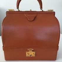 Authentic Hermes Vintage Sac Mallette Bag Rust Color Circa 1950 Photo