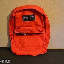 Authentic High Risk Superbreak Jansport Backpack Red  Photo