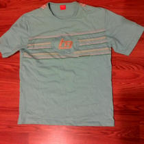 Authentic Hugo Boss Orange Label Mens T Shirt M Aqua Photo