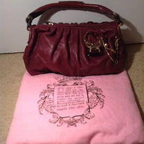 Authentic Juicy Couture Engagement Ring Handbag Photo