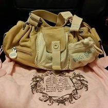 Authentic Juicy Couture Natural Leather Hobo Shoulder Bag Photo