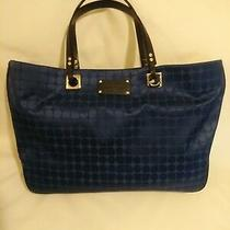 Authentic Kate Spade Blue Logo Totebag  - Very Gentle Used Photo
