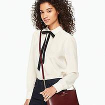 Authentic Kate Spade Purse Maroon Sawyer Street Cross Body Bow Shoulder Handbag Photo