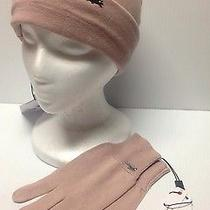 Authentic Lacoste Women Glovessz small&beanieone Sizecahsmere Blend Msrp 110 Photo