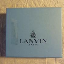 Authentic Lanvin Wallet Man Deer Skin Photo