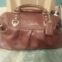 Authentic Large Coach Ashley Satchel in Walnut  Prestine Photo