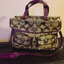 Authentic Large Coach Bag- Messenger/briefcase/diaper Euc Photo