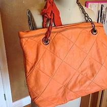 Authentic Lavin Poppy Quilted Tote Photo