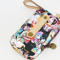 Authentic Lesportsac Tokidoki Pirata Portatelephono Cell Phone Wristlet Bag Photo