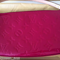 Authentic Like New Louis Vuitton Indian Rose Pochette Monogram Vernis Photo