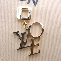 Authentic Louis Vuitton 18kwg That It Love Pendant Top Wg Yg 5.6 G Key Ring Photo