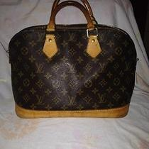 Authentic Louis Vuitton Alma  Bag  Photo