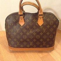 Authentic Louis Vuitton Alma Handbag Photo