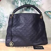 Authentic Louis Vuitton Artsy Mm Infini Empreinte Hobo Monogram Shoulder Bag Photo