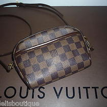 Authentic Louis Vuitton Bag Damier Ipanema Pochette Photo