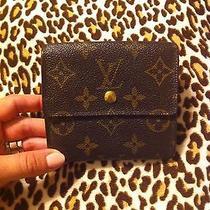 Authentic Louis Vuitton Bifold Wallet Photo