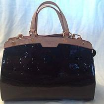 Authentic Louis Vuitton Brea Mm Amarante Handbag Photo