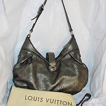 Authentic Louis Vuitton Bronze Mahina Xs Perforated Monogram Shoulder/hobo Photo